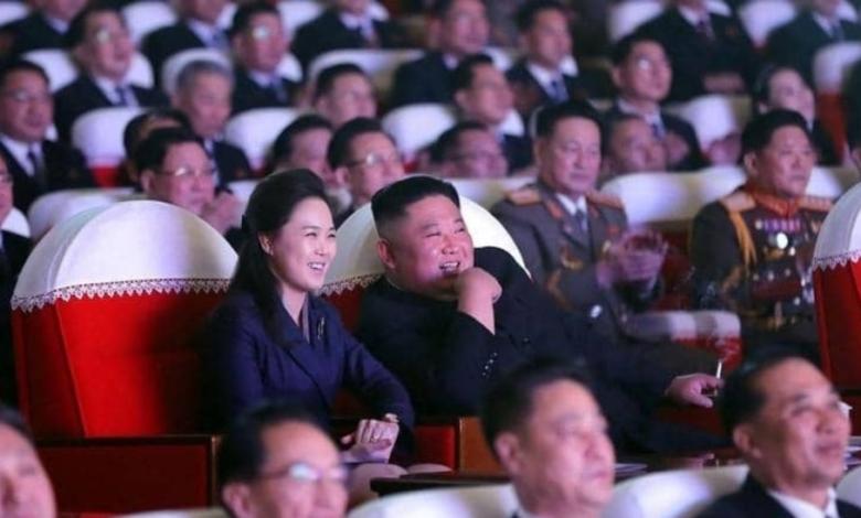 كيم جونغ أون اول ظهور لزوجته